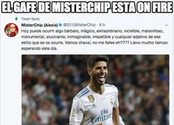 Enlace a Misterchip lo ha vuelto a hacer en menos de 24 horas, Asensio no marcó en su debut