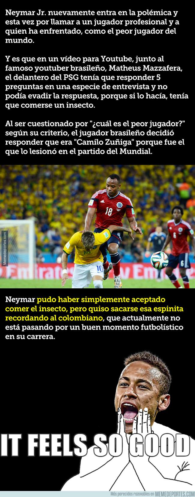 1012100 - Neymar revela quién es el peor jugador del mundo para él