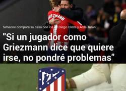 Enlace a El Atlético después de las palabras de Simeone