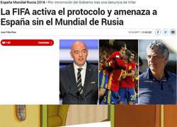 Enlace a La FIFA rescata a sus amigos