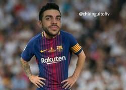 Enlace a Increíble lo de Messi con el palo