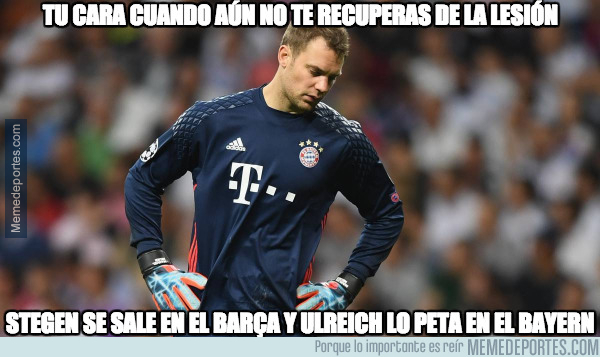1012607 - La mala hora de Manuel Neuer :(