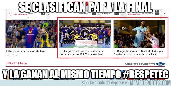 1012640 - El Barça de Balonmano en modo Leyenda