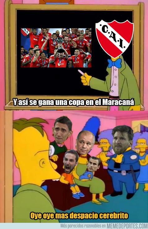 1012724 - Independiente mostrandole a Argentina como hacer las cosas