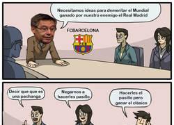 Enlace a Mientras tanto en las oficinas del FC BARCELONA