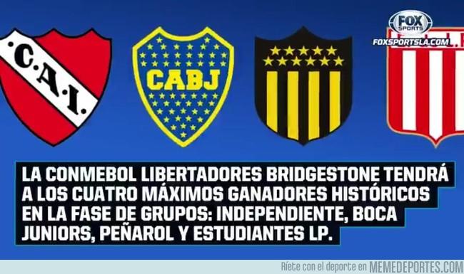 1012782 - Dato no menor de la Copa Libertadores 2018