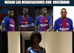 Enlace a La prueba de que el Barça estaba negociando con Griezmann