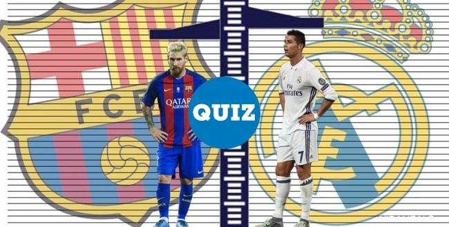 1012826 - QUIZ: Barcelona vs Real Madrid: ¿Qué jugador del Clásico es más alto?