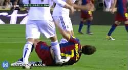 Enlace a [Recuerdos de clásicos] Cuando Arbeloa y Ramos curaron a Villa de su rodilla en 2 segundos