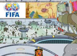 Enlace a España, la FIFA y el Mundial de Rusia