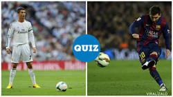 Enlace a QUIZ: ¿Quién dijo esto? ¿Cristiano o Messi? No son tan distintos en realidad