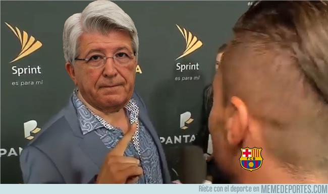 1012983 - Cerezo ha dicho que el Barça le ha faltado al respeto con lo de Griezmann