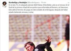 Enlace a Cuando nos quejamos de los árbitros españoles, y aparece esta leyenda arbitral de la Bundesliga