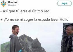 Enlace a Joaquín el último jedi, por @unaixxx