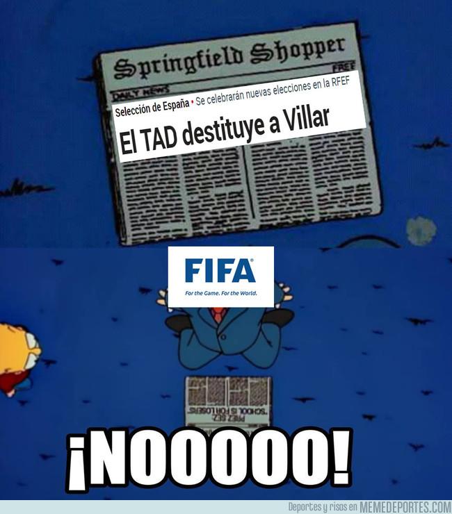 1013160 - Malas noticias en la FIFA