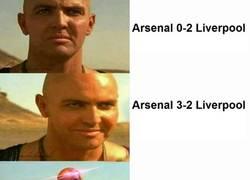 Enlace a Las distintas reacciones del Arsenal - Liverpool