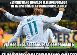 Enlace a Debate: ¿Es Cristiano Ronaldo el mejor jugador de la champions league?