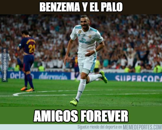 1013232 - Sigue la mala suerte de Benzema