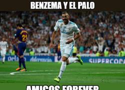 Enlace a Sigue la mala suerte de Benzema