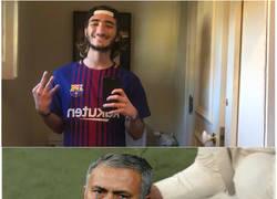 Enlace a ¿Quizá el hijo de Guardiola sea Madridista?
