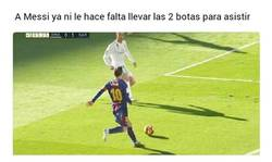 Enlace a Messi sigue sorprendiendo
