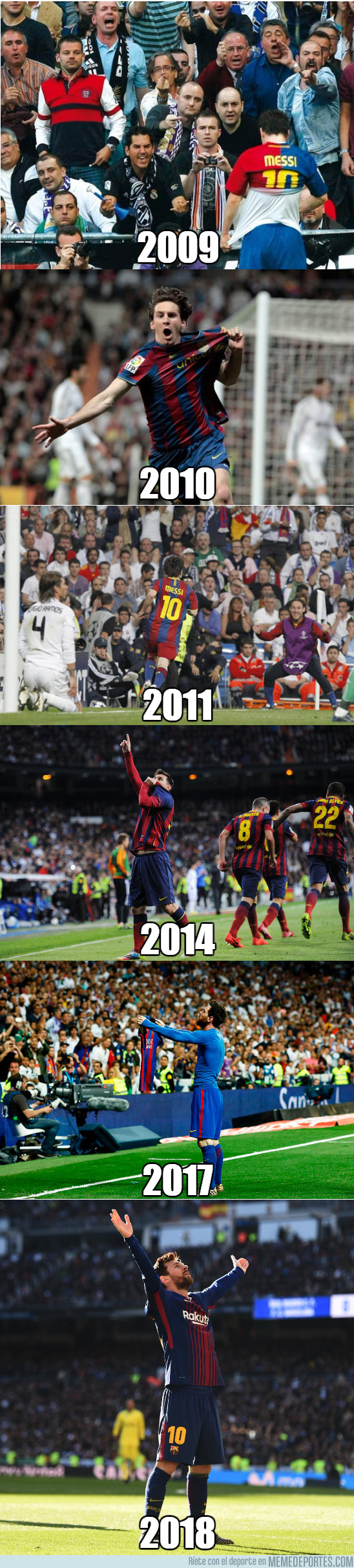 1013550 - Leo Messi y sus goles decisivos en el Bernabéu