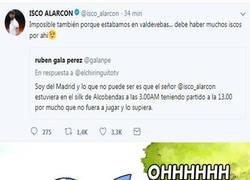 Enlace a El día de zascas de Isco, este a un aficionado del Real Madrid