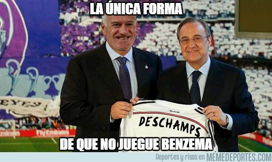 1013669 - La única forma de que Benzema no juegue
