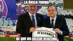Enlace a La única forma de que Benzema no juegue