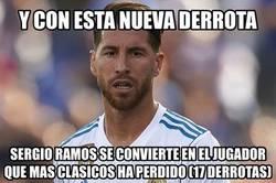 Enlace a Ramos y otro récord para el olvido