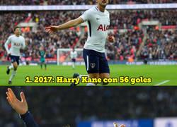 Enlace a El máximo goleador de cada año natural desde 2009