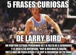 Enlace a 5 frases curiosas de Larry Bird