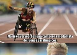 Enlace a Marieke Vervoot, una atleta que optó por la eutanasia.