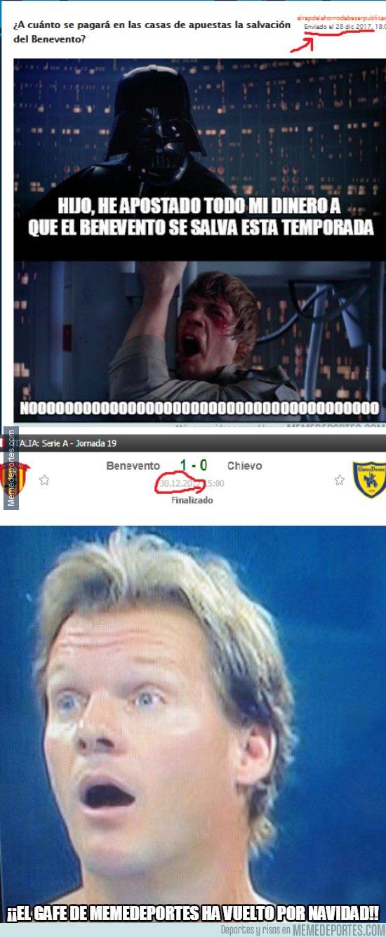 1014478 - El Benevento ha ganado gracias a MMD...y lo sabes