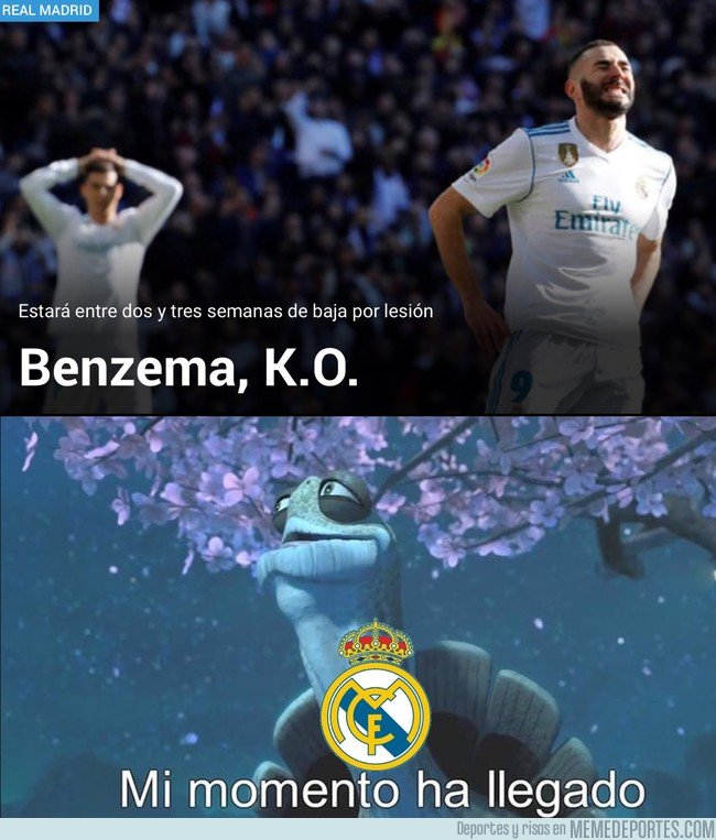 1014498 - Si Benzema se va, la liga viene...