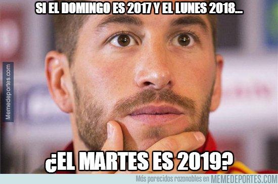 1014535 - Ramos lo ve claro, ¡feliz 2018 a todos!