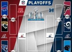 Enlace a Así quedan los Play-Offs de la NFL camino a la SuperBowl LII