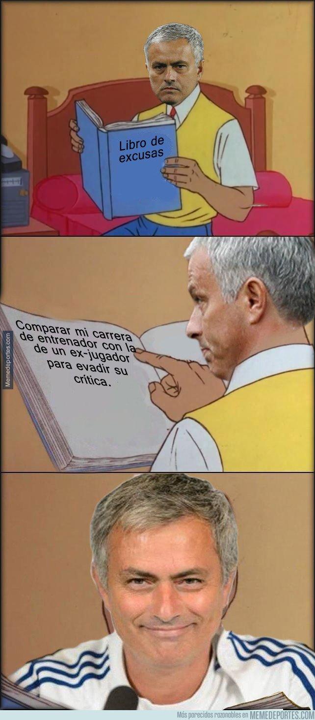 1014678 - El libro de excusas de Mourinho