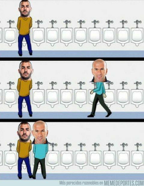 1014728 - Mientras tanto, en los reformados baños del Bernabéu...