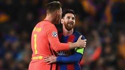 Enlace a GAMBETA, VASELINA Y CHILENA | La triple humillación de Leo Messi a Ter Stegen