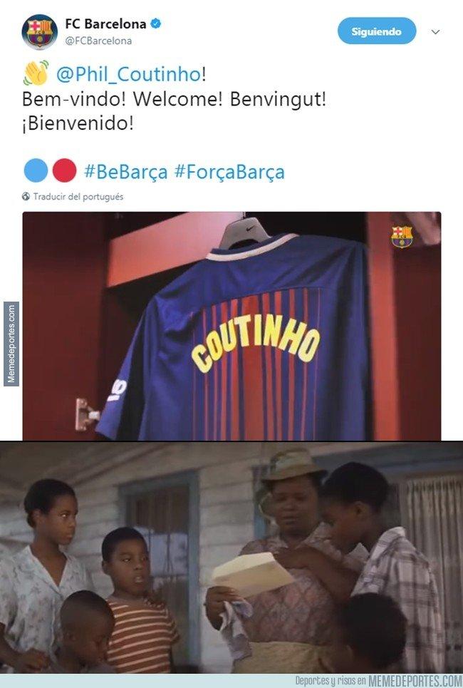 1015069 - Coutinho es oficialmente jugador del Barça