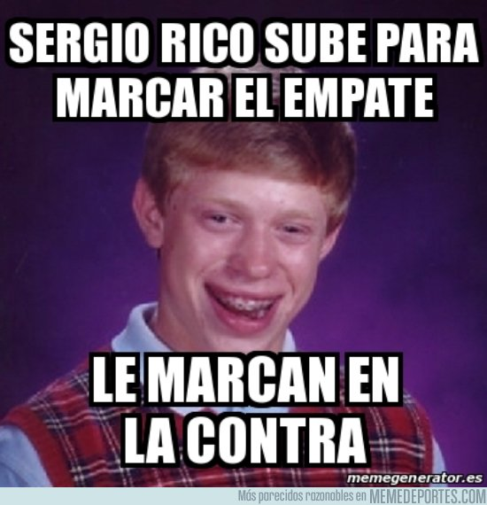 1015129 - Bad luck Sergio