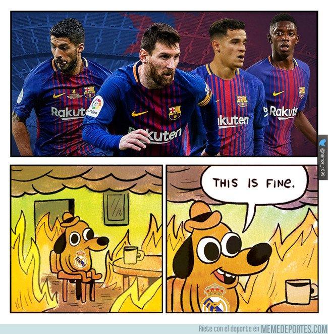 1015172 - Merengues viendo el equipazo del FC Barcelona ¡y falta Paulinho!
