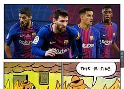 Enlace a Merengues viendo el equipazo del FC Barcelona ¡y falta Paulinho!