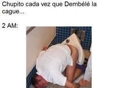 Enlace a Dembélé aún no se ha adaptado