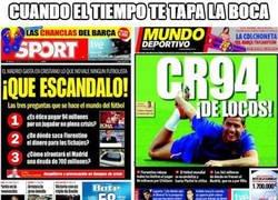 Enlace a Los diarios de Barcelona no han dicho nada de los 160 millones