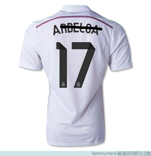 1015233 - Actualización de la camiseta de Arbeloa