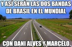 Enlace a Brasil tiene problemas para el mundial