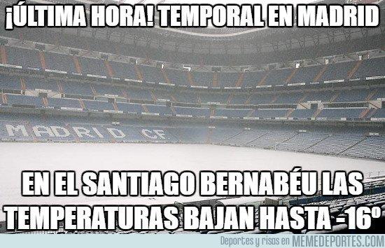 1015422 - El Bernabéu mas helado que nunca