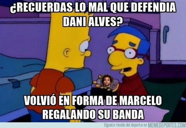 1015442 - Marcelo es muy bueno atacando, pero en defensa...